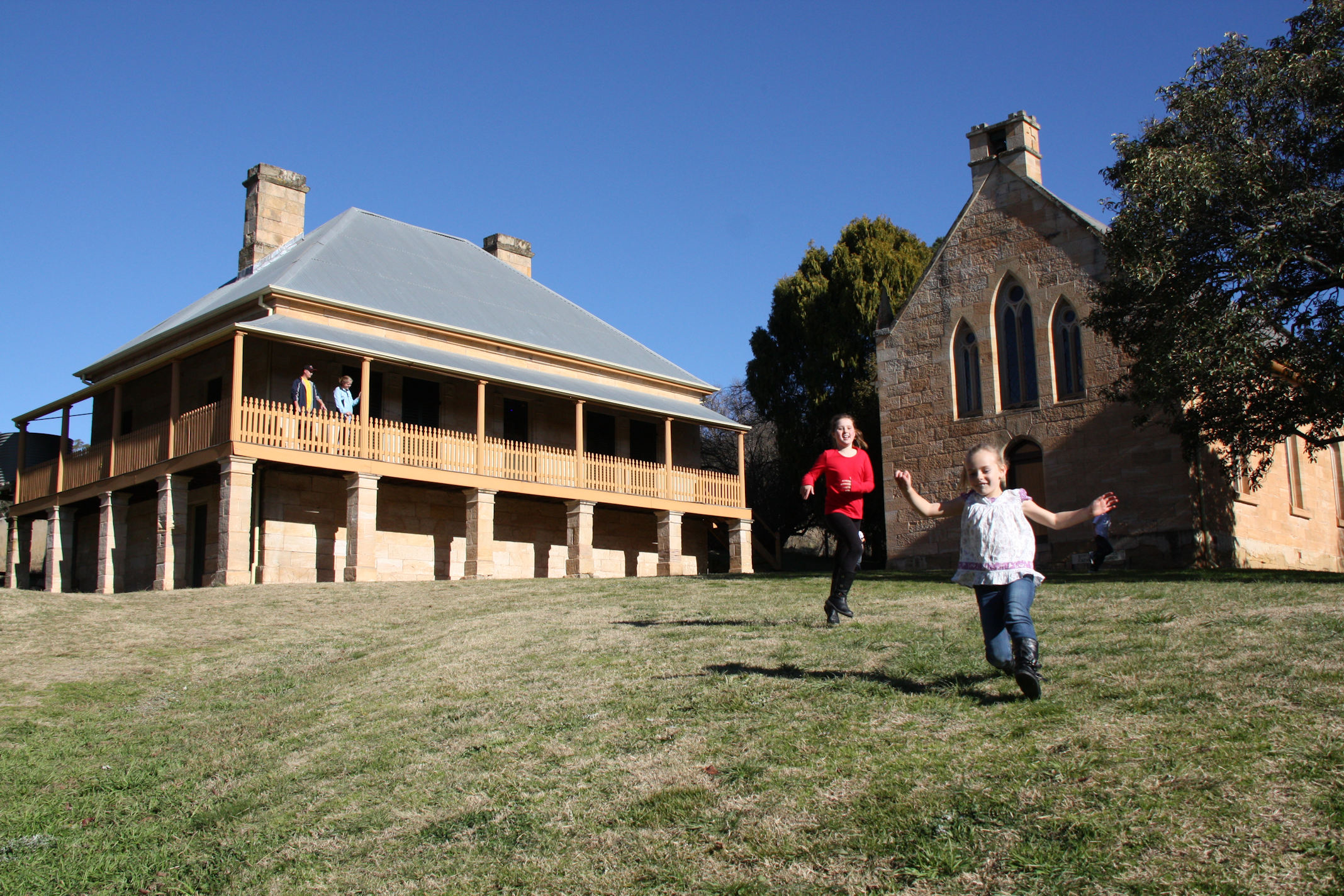 St Bernard's Presbytery – Hartley Historic Site