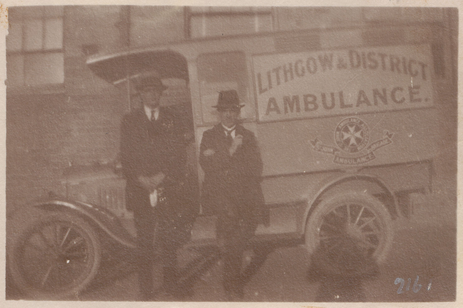 LDHS 0135 Lithgow and District Ambulance