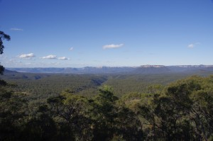View of Capertee Valley as seen from Pearsons Lookout