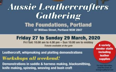 Aussie Leathercrafters Gathering